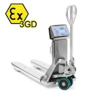 Dini Argeo TPWIEX3GD Trade Approved Stainless Steel Pallet Truck Scale